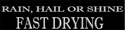 Fast Drying